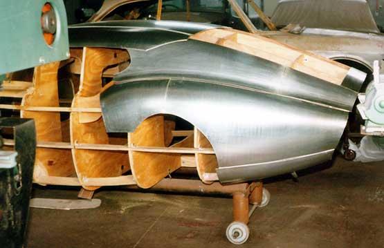 Race Car Wooden Buck