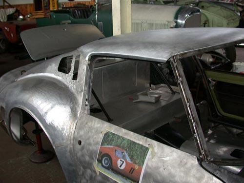 Ferrari 250 Gto Coachbuilding Classicar Restorations Ltd