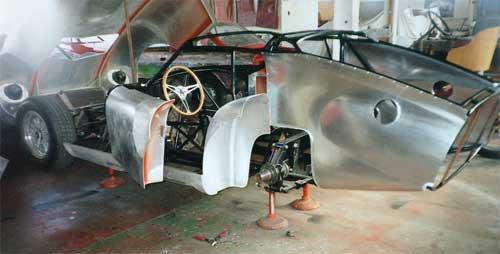 Vintage Race Car Restoration